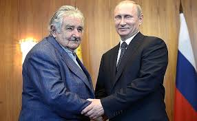 Meeting with President of Uruguay Jose Mujica • President of Russia
